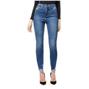 GOOD AMERICAN Good Curve High Rise Skinny Jeans!
